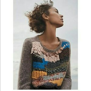 anthropologie hand knit by dollie sweater
